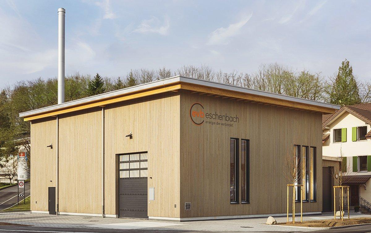 Energieverbund Eschenbach AG, Gebäude, Heizzentrale